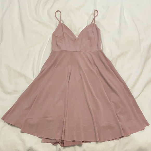 Kimchi Blue (Urban Outfitters) Dusty Pink Dress